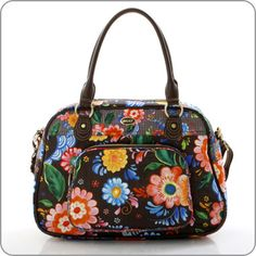 "OILILY Bag Tasche ""Russian Rose"", Carry All in Walnut Braun"