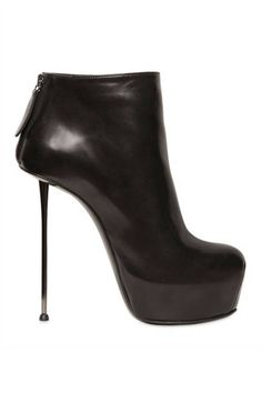 Stiletto Booties Boots - Spike-Heeled Booties - ELLE