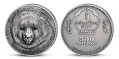 Medveď Gobi na minci Perth