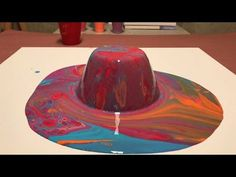 Fluid Painting Acrylic Pour Beginner! How to JUICE your Paints?? Fantastic Results Check it!! - YouTube