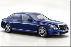 Maybach 57S: Henry's car.