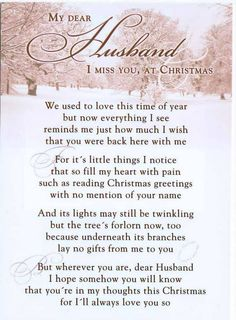 Missing My Husband at Christmas Time miss you family quotes heaven in memory husband christmas christmas quotes christmas quote christmas quotes about losing loved ones christmas in heaven quotes christmas in memory quotes Happy Holidays Quotes Christmas, Christmas In Heaven Poem, Christmas Poems, Christmas Time, Christmas Christmas, Miss My Husband Quotes, Missing My Husband, Husband Love, Heaven Poems