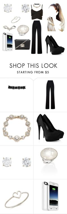 """""""❝ One less, one less problem now . . ❞"""" by arianagrandeonfleek ❤ liked on Polyvore featuring Topshop, Misha Nonoo, Marchesa, Giuseppe Zanotti, Ippolita, Aurélie Bidermann, Mophie and Forever 21"""