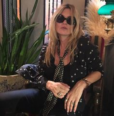 Supermodel Kate Moss (pictured) is believed to have split up with her toyboy lover, Count Nikolai von Bismarck, because of his wild partying