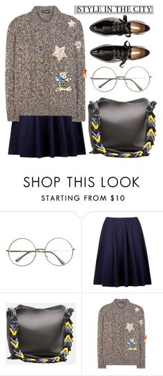 """""""BA149: City Girl"""" by bugatti-veyron ❤ liked on Polyvore featuring Dolce&Gabbana"""