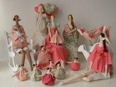 MATERNIDAD - Tilda es una muñeca de Noruega que tiene mucho éxito en Brasil. La gran ventaja de este kit es que todas las piezas se pueden utilizar en la decoración del cuarto de niños o cualquier rincón de la casa --------