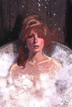 Nobody will ever be as pretty as Sharon Tate in The Fearless Vampire Killers & this painting captures her essence so very perfectly. RIP Sharon.