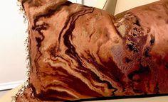ZOFFANY SERPENTINE MARBLE; ROBERT ALLEN LINEN BACK WITH BEADED TRIM PILLOW  | eBay