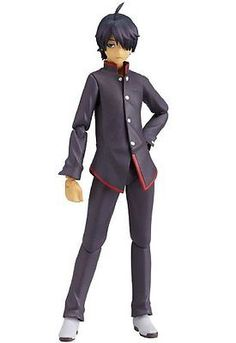 New Figma Action Figure Bakemonogatari Koyomi Araragi Japan Import #ebay