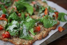 Cauliflower pizza crust for a guilt-free pizza fix!!!