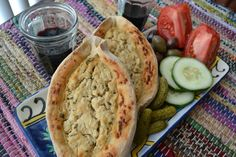 Vegan Khatchapuri Bread from An Unrefined Vegan.