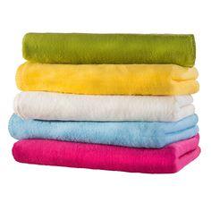 waschbar Flanellen deken, groen
