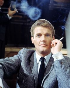 Picture of Roger Moore  as Simon Templar/The Saint