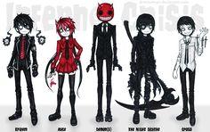 Characters design for Inferno Crisis #1 by DemiseMAN.deviantart.com on @deviantART