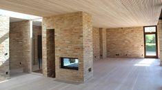 Ny villa i Farum Bricks, Textures Patterns, Danish, Facade, Sweet Home, Villa, Loft, Houses, Interior Design