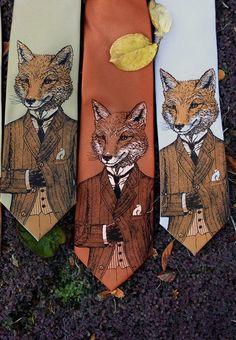 dapper fox tie for a dapper dad