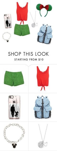 """""""Disney Christmas"""" by ellie-may346 on Polyvore featuring J.Crew, Splendid, Casetify, Herschel Supply Co. and Disney"""