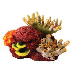 National Geographic™ Coral Cluster Aquarium Ornament | Backgrounds | PetSmart