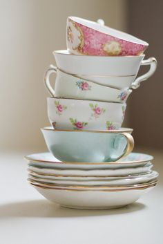 stacked+cups | coffee cup friday - saturday/stack of tea cups edition | Flickr ...