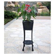 Dalton Plant Stand In Black