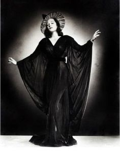 Vintage Witch Glamour Photograph