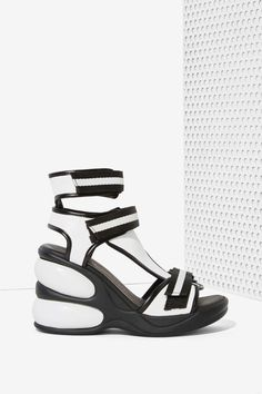 Jeffrey Campbell Walk Tall Leather Sandal