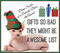 6th Annual Holiday Gifts So Bad They Might Be Awesome List |funny gifts| |gag gifts| |bad gifts| |white elephant gift| |funny secret santa|