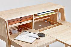 Wooden secretary desk / dressing table BELLE SIXtematic Collection by sixay furniture   design Szikszai László