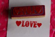 Sello Love https://www.facebook.com/TiendaPlastilina
