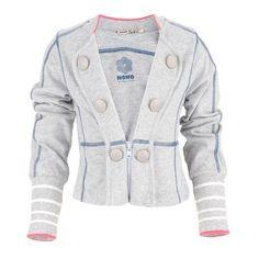 NONOnsense Gray jersey blazer at alexandalexa.com