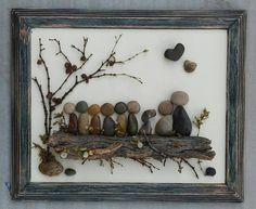 Check out this item in my Etsy shop https://www.etsy.com/listing/485520138/pebble-art-rock-art-pebble-art-family