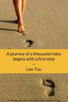 Wat is jouw grootste droom? Wat zou je in jouw leven willen bereiken? Wat je wens ook is, je komt er alleen als je ook echt die eerste stap zet. Wat is de eerste stap die jij gaat zetten?