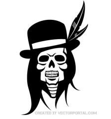 skull-of-indian-chief-free-vector-823