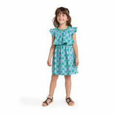 Girls Spring Blue Dress | Tea Collection