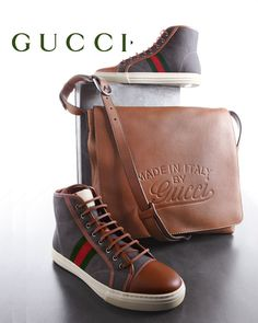 I'll take the shoes and the bag, please. Gucci Men's Shoes
