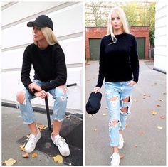 Mohair & Boyfriend Jeans www.simonetajmer.dk