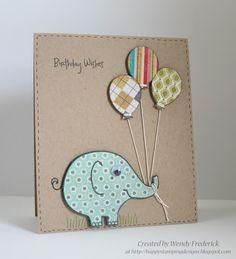 Elefanten Karte