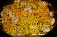 Linguine with Shrimp and Saffron Sauce   I have this favorite recipe that I have been making for years now and each times I fall in love with the flavors.