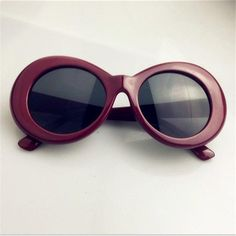 b9d01cfe16 YOOSKE Vintage Round Sunglasses For Women Men Clout Goggles NIRVANA Kurt  Cobain Mirrored Glasses Retro Female