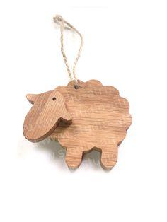 Новогодние сувениры - Деревянный сувенир, деревянная игрушка, деревянная овечка, новогодний сувенир