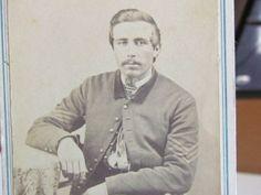 Civil War sergeant cdv photograph