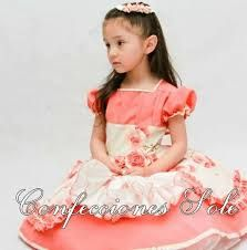 Imagen relacionada Girls Dresses, Flower Girl Dresses, Ruffles, Costumes, Wedding Dresses, Hair Styles, How To Wear, Vintage, Outfits