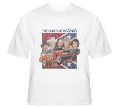 The Dukes of Hazzard Original TV Show Vintage Distressed T Shirt