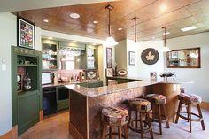 Cochran Feature Home Bar