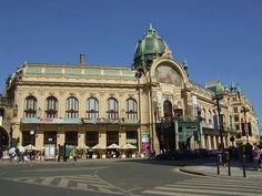 Municipal House in Prague, #czechrepublic #beautifulplaces