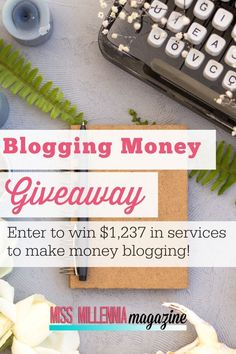 Are you tired of not making money on your blog? Enter for your chance to win blog coaching with Jasmine Watts of Miss Millennia Magazine for four weeks and a year long subscription to the Blogging Money Update Sponsored Posts Newsletter.  Here is what you get:  4-Week Blog Monetization Coaching with Me ($998 Value) 1 year of the Blogging Money Update Subscription ($239.88 Value)  What are you waiting for? Sign up today! Make Money Fast, Make Money Blogging, Make Money From Home, Blogging Ideas, Online Blog, Blogging For Beginners, Blog Tips, Making Ideas, 1 Year