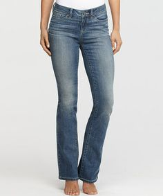 Love this Vintage Denim Slim Shaper Bootcut Jeans - Women & Plus by Yummie by Heather Thomson on #zulily! #zulilyfinds
