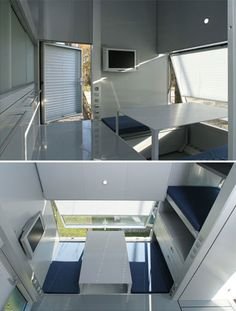 The micro compact home by Horden Cherry Lee Architects
