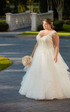 6501 Princess Plus Size Ballgown With Horsehair Skirt By Stella York