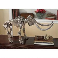 Origin of Species Collection: Mammoth Skeleton Sculpture Was: $189.00           Now: $179.00